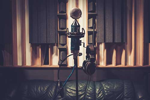 Vocal Recording in treated room