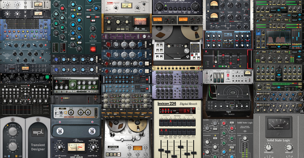 Mixing and Mastering Plugins by UA